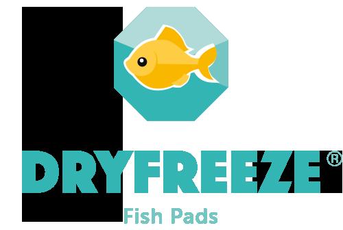 Dryfreeze Fish Pads Logo.