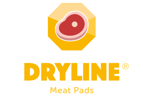 Dryline Absorbent Meat Pads logo.
