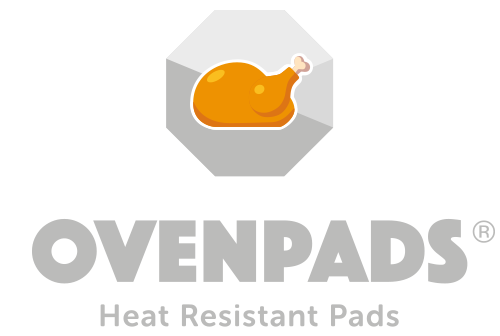 Ovenpads Absorbent Heat Resistant Pads logo.